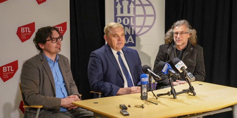 Polski Ośrodek Lalkarski POLUNIMA z siedzibą w BTL | Konferencja prasowa