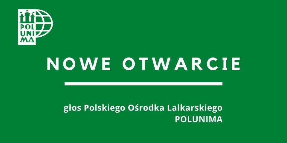 NOWE OTWARCIE – głos Polskiego Ośrodka Lalkarskiego POLUNIMA